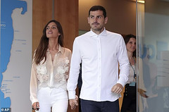 Iker Casillas' wife, Sara Carbonero reveals she's battling ovarian cancer weeks after Spanish keeper's heart attack (baydorzblogng) Tags: nigeria news africa international celebrity gists other education fashion