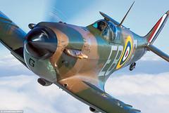 CLOSE UP SPITFIRE (DREADNOUGHT2003) Tags: wwii warpictures warplanes warplane fighters fighter raf usaac luftwaffe france