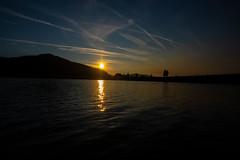 morning sun over the lake (ekilgore74) Tags: whiskeytownlake lake water morning night sun clouds