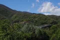 The Ancestral Home (Elizabeth Almlie) Tags: italy toscana tuscany scorano pontremoli bassone view highway