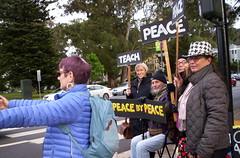 100_2792 (Haight Ashbury Neighborhood Peace Vigil) Tags: haight ashbury peace vigil iraq iran afghanistan syria venezuela war moratorium golden gate park panhandle san francisco may 2019