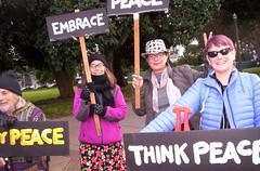 100_2791 (Haight Ashbury Neighborhood Peace Vigil) Tags: haight ashbury peace vigil iraq iran afghanistan syria venezuela war moratorium golden gate park panhandle san francisco may 2019