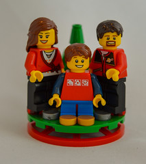 Family 01 (LegoSpaceGuy) Tags: lego christmas ornament