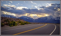 915. Eastern Sierra Nevada 41 (Oscardaman) Tags: eastern sierra nevada 41 sunset road shot i395