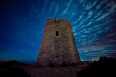 Dark tower (Ich Rexel) Tags: landscape tower dark night ibiza