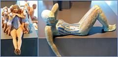 """""""Mes chères baigneuses"""" 2016 Rétrospective Mady Andrien de 1962 à nos jours, Musée de la Boverie, Liège, Belgium (claude lina) Tags: claudelina belgium belgique belgië liège musée museum laboverie oeuvre sculpture madyandrien"""