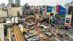 DSC_0277 (Adrian De Lisle) Tags: asia city cityscape crosswalk crowd japan people shibuya shibuyacrossing shibuyahikarie tokyo train trainstation shibuyaku tōkyōto