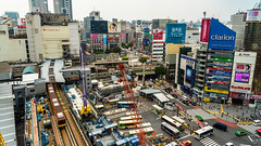 DSC_0244 (Adrian De Lisle) Tags: asia city cityscape crosswalk crowd japan people shibuya shibuyacrossing shibuyahikarie tokyo train trainstation shibuyaku tōkyōto