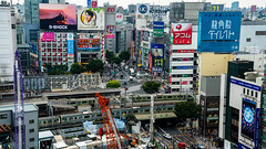 DSC_0117 (Adrian De Lisle) Tags: asia city cityscape crosswalk crowd japan people shibuya shibuyacrossing shibuyahikarie tokyo train trainstation shibuyaku tōkyōto