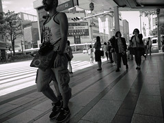 Street Photography (JM V&P) Tags: street kyoto japan people black white monochrome