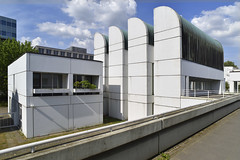 Berlin Bahaus (fred9210) Tags: architecture berlin bahaus graphism structure style perspective