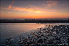 Time to say goodnight! (karindebruin) Tags: johan jos nederland nieuwhaamstede noordzee northsea sigrid thenetherlands zeeland zonsondergang beach sand sea strand sunset water zand zee