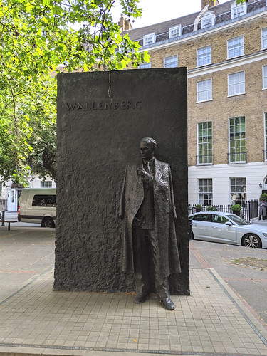 Raoul Wallenberg Monument, London