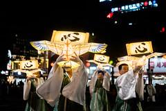 Lotus Lantern Parade (kitsunekuma) Tags: fujifilm fujinon fuji xf35mmf2 night nightshot lantern lanterns lights light beautiful beauty lotus parade buddhism buddha buddhist men korea korean seoul insadong travelphotography travel traditional tradition