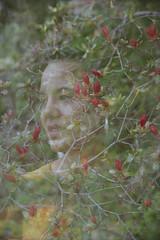 (Silvia Kuro) Tags: flower flowers azalea spring april chloris primavera printemps springtime nature natura double exposure 35mm film analog analogue analogic analogica analogico