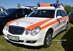 DRK Mercedes E Class GP.RK306 (policest1100) Tags: drk mercedes e class