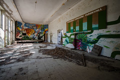 DSC_1473 (The Archives of Decay) Tags: urbanexploring urbexphotography udssr lostplaces abandonedplaces abandoned verlassen abandonedmilitarybuilding sovietunion sowjetunion gssdwgt gssd kaserne sovietunionabandoned