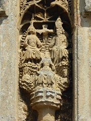 Coronation of Mary, South Walsham (Aidan McRae Thomson) Tags: southwalsham church norfolk medieval sculpture carving