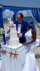 21-year-old Nigerian lady ties the knot with 65-year-old white Man in Lagos. Photos (baydorzblogng) Tags: nigeria news africa international celebrity gists other education fashion