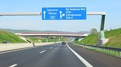 A30-121 (European Roads) Tags: a30 bad oeynhausen nordumgehung dehme kreuz autobahn germany