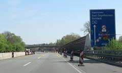 A30-112 (European Roads) Tags: a30 bad oeynhausen nordumgehung dehme kreuz autobahn germany