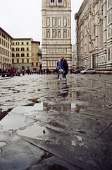 Reflections (dvd.otero) Tags: analog film kodak vision 250d olympus om10 italy tuscany florence firenze