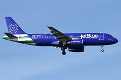 jetBlue Airways - Airbus A320-232 - N531JL - Blue Finest (ex- All Blue Can Jet, ex- Rhapsody In Blue) - John F. Kennedy International Airport (JFK) - February 19, 2019 431 RT CRP (TVL1970) Tags: nikon nikond7200 d7200 nikongp1 gp1 geotagged nikkor70300mmvr 70300mmvr aviation airplane aircraft airlines airliners johnfkennedyinternationalairport kennedyairport jfkairport jfkinternational jfk kjfk bayswaterpark n531jl n531jb jetblueairways jetblue bluefinest speciallivery newyorkcitypolicedepartment nypd allbluecanjet rhapsodyinblue dannf bluewings airberlin airbus airbusindustrie airbusa320 airbusa320200 airbusa320232 a320 a320200 a320232 internationalaeroengines iae iaev2500 v2500 v2527 v2527a5