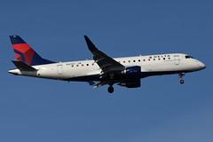 Delta Connection (SkyWest Airlines) - Embraer ERJ-175LL (ERJ-170-200 LL) - N263SY - John F. Kennedy International Airport (JFK) - February 19, 2019 329 RT CRP (TVL1970) Tags: nikon nikond7200 d7200 nikongp1 gp1 geotagged nikkor70300mmvr 70300mmvr aviation airplane aircraft airlines airliners johnfkennedyinternationalairport kennedyairport jfkairport jfkinternational jfk kjfk bayswaterpark n263sy deltaconnection deltaairlines delta skywestairlines skywest embraer erj embraere175 e175 embraere175ll e175ll embraer170 embraer175 embraererj175 embraererj175ll embraererj170200 embraererj170200ll erj170 erj170200 erj170200ll erj175ll e170 e170ll generalelectric ge generalelectriccf34 gecf34 cf34 cf348e5 ejet