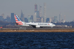 American Airlines (AA) - Boeing 737-800 - N947AN - John F. Kennedy International Airport (JFK) - February 19, 2019 272 RT CRP (TVL1970) Tags: nikon nikond7200 d7200 nikongp1 gp1 geotagged nikkor70300mmvr 70300mmvr aviation airplane aircraft airlines airliners johnfkennedyinternationalairport kennedyairport jfkairport jfkinternational jfk kjfk bayswaterpark n947an americanairlines aa boeing boeing737 boeing737800 737800 737800wl boeing737823 737823 737823wl 737nextgeneration 737 737ng b737 b737ng b738 aviationpartners winglets cfminternational cfmi cfm56 cfm567b24 jamaicabay runway4l