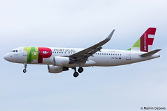 TAP Air Portugal Airbus A320-214  |  CS-TNV  |  LMML (Melvin Debono) Tags: tap air portugal airbus a320214 | cstnv lmml cn 4145 melvin debono spotting canon plane planes photography airport airplane aircraft malta mla