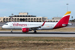 Iberia Express Airbus A320-216  |  EC-LUS  |  LMML (Melvin Debono) Tags: iberia express airbus a320216 | eclus lmml cn 5501 melvin debono spotting canon plane planes photography airport airplane aircraft malta mla