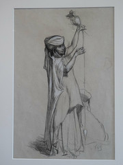 Fileuse (bpmm) Tags: algérie gustaveguillaumet lapiscine nord roubaix art dessin expo exposition