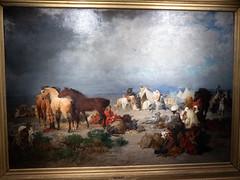 Campement d'un goum (bpmm) Tags: algérie gustaveguillaumet lapiscine nord roubaix art expo exposition peinture