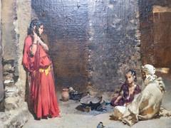 Scène de gourbi (bpmm) Tags: algérie gustaveguillaumet lapiscine nord roubaix art expo exposition peinture