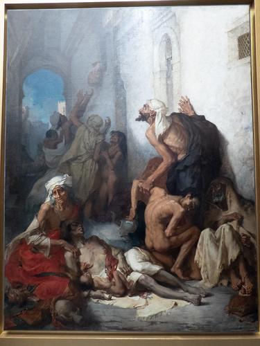 La famine en Algérie