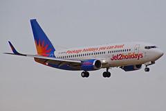 G-GDFM 737-36N Jet2  Reus 11-07-16 (Antonio Doblado) Tags: ggdfm reus boeing b737 737 jet2 aviación aviation aircraft airplane airliner