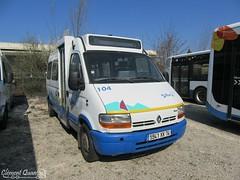 RENAULT Master - 104 - Sibra (Clément Quantin) Tags: bus autobus minibus urbain ligne renault master durisotti 104 5941xx74 transdev hautesavoie transdevhautesavoie groupe groupetransdev réseau sibra annecy grandannecy communautédagglomération dépôt