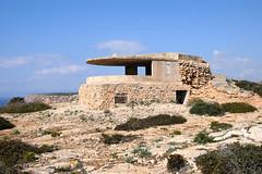 Old coastal artillery observation bunker (seahawkgfx) Tags: artillery coastal bunker lost place observation cap blanc mallorca