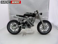 norton cross2 (moc-nemooz.com) Tags: norton cross moc nemooz lego technic motorbike motorcycle