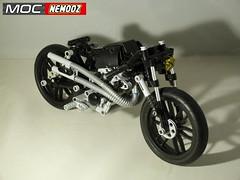 triumph bobber1 (moc-nemooz.com) Tags: triumph bobber moc nemooz lego technic motorbike motorcycle
