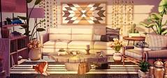 Leisure Tiime (Sadystika Sabretooth) Tags: collabor88 dahlia events secondlife acorn ariskea foxwood nutmeg peaches fancydecor commoner decor home homedecor furniture virtualworld virtualreality virtual