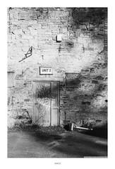 Unit 2 (Rory Prior) Tags: 35mm calderdale hebdenbridge rollei35se spring yorkshire bw film fomapan100 grafitti industrial