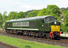 D8 Penyghent BR Class 44 (Keith B Pics) Tags: d8 44008 class44 peak rowsleysouth 1coco1 penyghent diesel peakrail keithbpics loco heritage