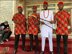 Check out first photos from the traditional wedding of Super Eagles star, Wilfred Ndidi (baydorzblogng) Tags: nigeria news africa international celebrity gists other education fashion