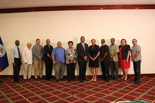 Commonwealth Parliamentary Association Secretary General Visits Belize