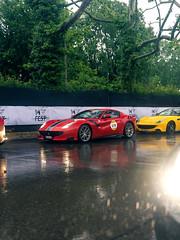 TDF in the Rain (Mattia Manzini Photography) Tags: ferrari f12 tdf f12tdf supercar supercars cars car carspotting nikon d750 v12 red automotive automobili auto automobile italy italia modena millemiglia ferraritribute rain wet limited
