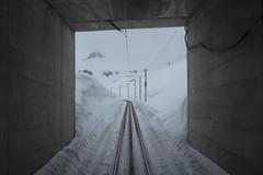 Oberalp Pass - MGB Tunnel Calmot I (Kecko) Tags: 2019 kecko switzerland swiss schweiz graubünden graubuenden gr matterhorngotthardbahn railway railroad mgb eisenbahn bahn tunnel oberalp pass oberalppass snow schnee mai may calmot gleis tracks swissphoto geotagged geo:lat=46655630 geo:lon=8677500