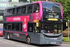 National Express West Midlands Alexander Dennis Enviro400 MMC 6972 (SK19 EPD) (West Bromwich) 'Amy Elizabeth' (john-s-91) Tags: nationalexpresswestmidlands alexanderdennisenviro400mmc 6972 sk19epd birmingham route87