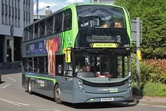 National Express West Midlands Alexander Dennis Enviro400 MMC 6931 (SK68 MHO) (Pensnett) 'Laura' (john-s-91) Tags: nationalexpresswestmidlands alexanderdennisenviro400mmc 6931 sk68mho birmingham route9 xmendarkpheonix