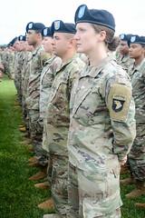 "190522-A-WV398-37 (Fort Campbell) Tags: weekoftheeagle2019 woe2019 woe 101stairbornedivisionairassault 101stsustainmentbrigade 3rdbrigadecombatteam""rakkasans"" 101stcombataviationbrigade 1stbrigadecombatteam 2nd brigade combat team fortcampbell us army air assault 129thcombatsustainmentsupport 129thcssb 101stspecialtroopsbattalion divisionreview screamingeagles"
